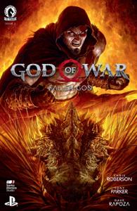 God of War: Fallen God #2 Book Cover