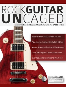 Rock guitar UnCAGED Book Cover