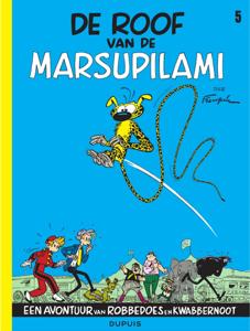 De roof van de Marsupilami Boekomslag
