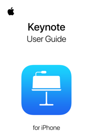 Keynote User Guide for iPhone