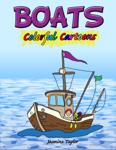 Boats Colorful Cartoons