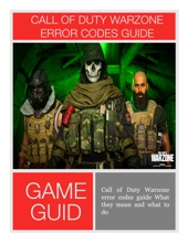 Call Of Duty Warzone Error Codes Guide What They Mean And What To Do