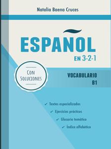 Español en 3-2-1: Vocabulario B1 Buch-Cover