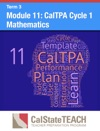 Module 11 CalTPA Cycle 1 Mathematics