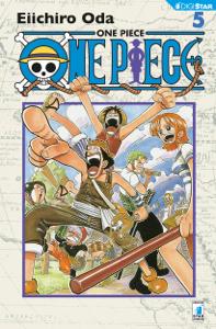 One Piece 5 Copertina del libro