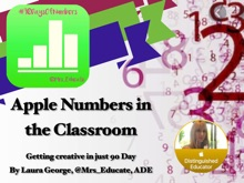 Apple Numbers In The Classroom #90DaysOfNumbers