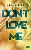 Lena Kiefer - Don't LOVE me Grafik