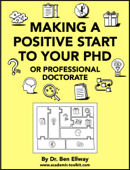 Making A Positive Start To Your PhD Or Professional Doctorate Book Cover