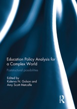 Education Policy Analysis For A Complex World