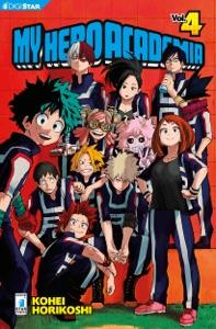 My Hero Academia 4 Book Cover