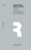 Legge, soggetto ed eredità Book Cover