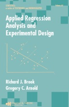 Applied Regression Analysis And Experimental Design
