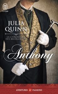 La chronique des Bridgerton (Tome 2) - Anthony Couverture de livre