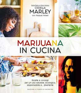 Marijuana in cucina Copertina del libro