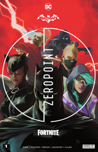 Batman/Fortnite: Zero Point (2021) #1 Copertina del libro