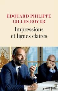 Impressions et lignes claires par Édouard Philippe & Gilles Boyer Couverture de livre