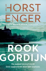Rookgordijn Door Jørn Lier Horst & Thomas Enger Boekomslag