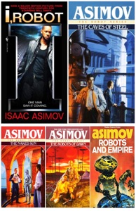 Robot Series Collection By Isaac Asimov 5 Books Set