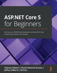 ASP.NET Core 5 for Beginners Book Cover