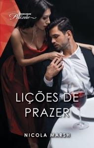 Lições de prazer Book Cover
