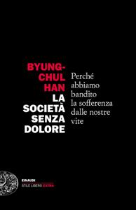 La società senza dolore Copertina del libro