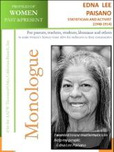 Profiles of Women Past & Present – Edna Lee Paisano, Statistician, Activist (1948 -)