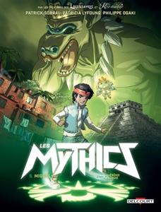 Les Mythics T05 di Philippe Ogaki, Patrick Sobral, Patricia Lyfoung, Fabien Dalmasso & Jérôme Alquié Copertina del libro