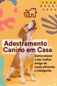 Adestramento Canino Em Casa Book Cover
