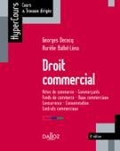 Droit commercial - 9e ed.