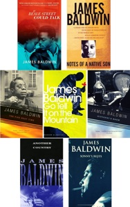 James Baldwin Collection 7 Books: The Fire Next Time, Giovanni's Room, Go Tell it on the Mountain, If Beale Street Could Talk, Another Country, Notes of a Native Son, Sonny's Blues.