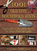 1,001 Old-Time Household Hints Book Cover
