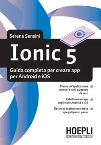 Ionic 5 Copertina del libro