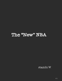 THE NEW NBA