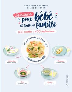 100 recettes pour bébé et toute la famille La couverture du livre martien