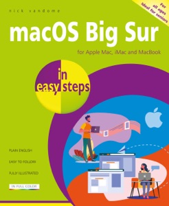 macOS Big Sur in easy steps Book Cover