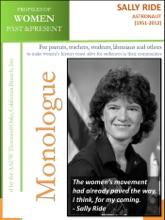 Profiles Of Women Past & Present – Sally Ride, Astronaut (1951-2012)