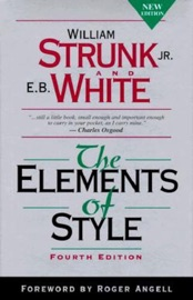 THE ELEMENTS OF STYLE, FOURTH EDITION BY WILLIAM STRUNK JR. (1999-08-01)