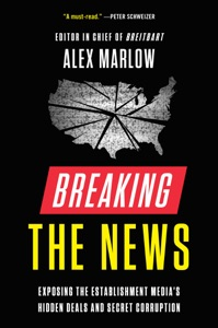 Breaking the News by ALEX MARLOW Book Cover