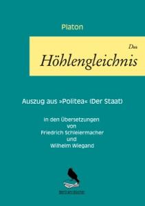 Das Höhlengleichnis von Platon Buch-Cover