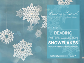 Beading pattern collection - Snowflakes