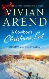 A Cowboy's Christmas List - Vivian Arend by  Vivian Arend PDF Download