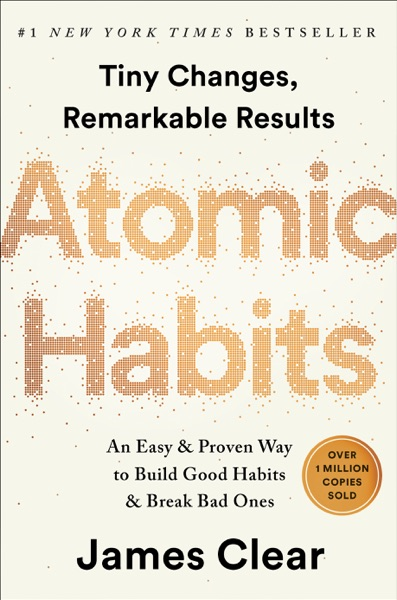 Atomic Habits - James Clear book cover