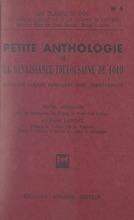 Petite Anthologie De La Renaissance Toulousaine De 1610
