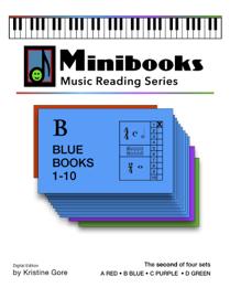 Minibooks Music Reading Series