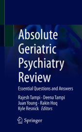 Absolute Geriatric Psychiatry Review