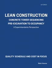 Lean Construction Concrete Tower Sequencing Pre-Excavation to Occupancy