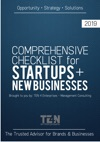 Comprehensive Checklist For Startups  New Businesses