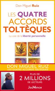 Les quatre accords toltèques Couverture de livre