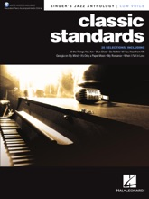 Classic Standards: Singer's Jazz Anthology - Low Voice