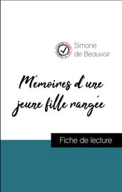 Mémoires d'une jeune fille rangée de Simone de Beauvoir (Fiche de lecture de référence)